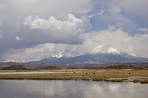 De vulkanen Parinacota en Sajama - Wiecher Huisman